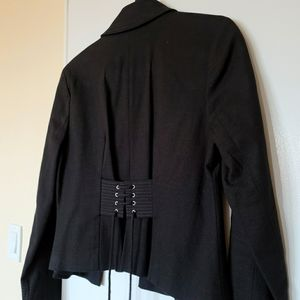 Club Monaco Blazer with corset on the back